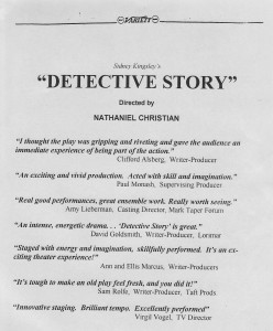 Nat Christian - Dtective Story - Ind Reviews