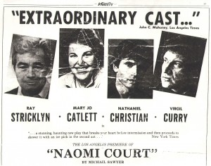 Nat Christian - Naomi Court -Cast Review